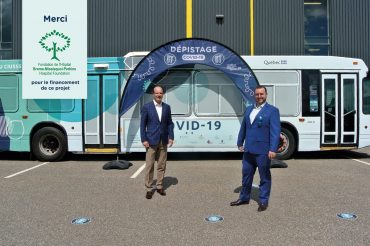 First mobile unit ready to hit the road in the Eastern Townships